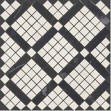 Marvel Cremo Mix Diagonal Mosaic 30.5x30.5
