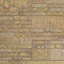 Walk Вставка 41300 Beige/Gold mosaic 33.3x33.3