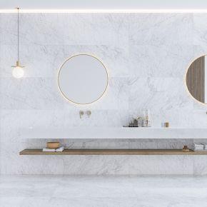 Коллекция Qua Granite Carrara в интерьере