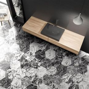 Коллекция ITT Ceramic Ebru в интерьере