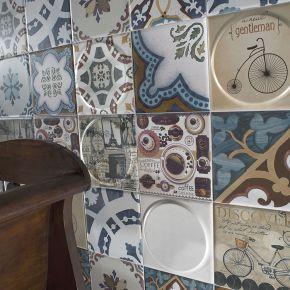 Коллекция Mayolica Ceramica  Vintage в интерьере