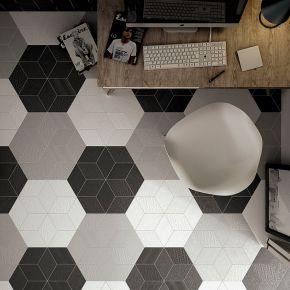 Коллекция Equipe Ceramicas Rhombus в интерьере
