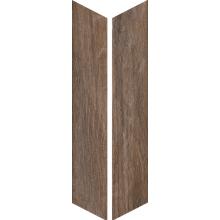 Керамическая плитка VNTG BRUNE CHEVRON 7,5x40,7