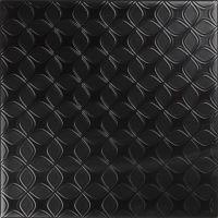 20*20 Decor Black&White Negro (Mикс из черных декоров) 9 mm декоративная керамическая плитка