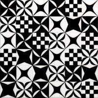 20*20 Mosaico Black&White 9 mm декоративная керамическая плитка