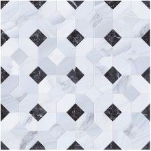 Мозаика STATUARIO MOSAICO ABADIA PERLA 45x45 см