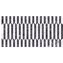 Декор STATUARIO DECO ABADIA NEGRO 34x67 см