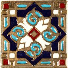 Вставка из бронзы с эмалью Kavarti Orient 1665 5x5