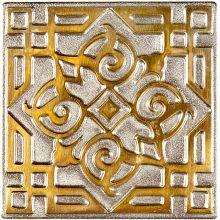 Вставка из бронзы с биметаллическим эффектом Kavarti Zircon Orient 7,5x7,5