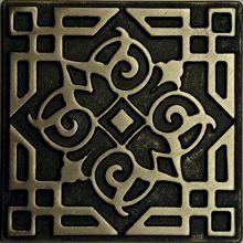 Вставка из бронзы Kavarti Orient 7,5x7,5