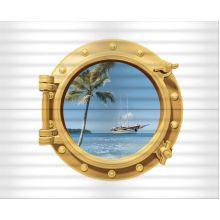 23,5*58 Decor Ocean (2) (иллюминатор)  декор настенный