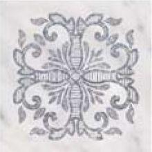 Tozzetti in Marmo Blanco Carrara Laser Argento