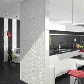 Коллекция Vives Ceramica Black&white в интерьере