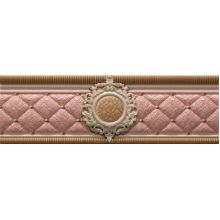 Cenefa Bellini Pink Roseton 8 x 25