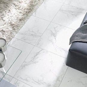 Коллекция Porcelanosa  Marmol Carrara в интерьере